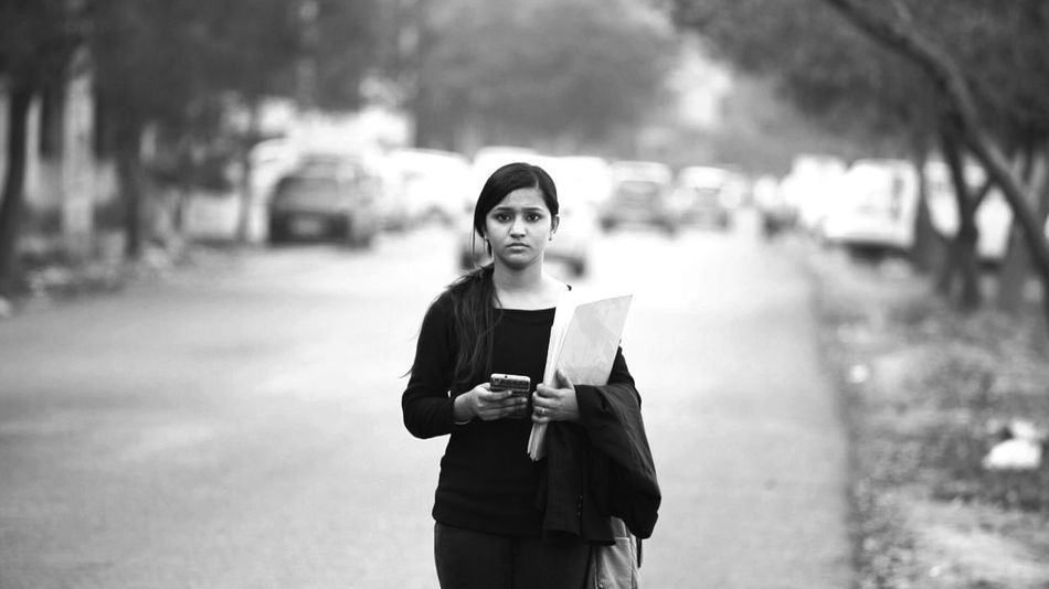 People Photography Life Photography Delhi Taking Photos Depth Of Field Portrait Of A Friend Beautiful Girl Black And White