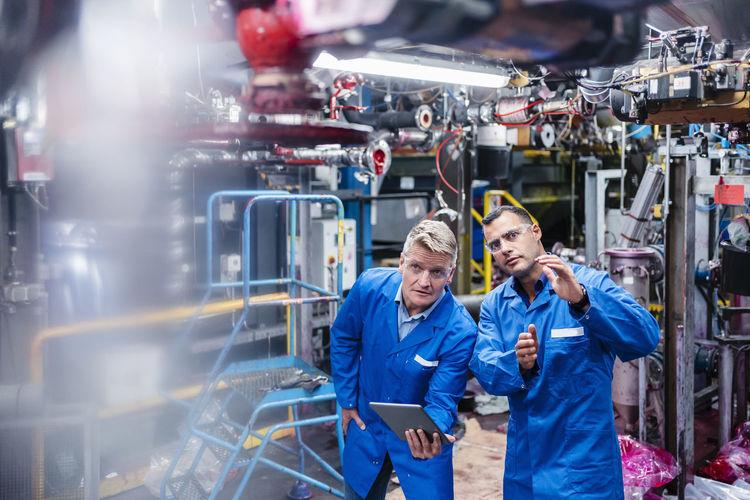 Male technician