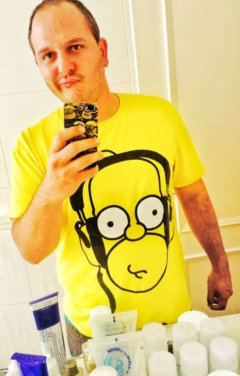 Homer! Simpsons Homersimpson Funny Lazy Day DOH!