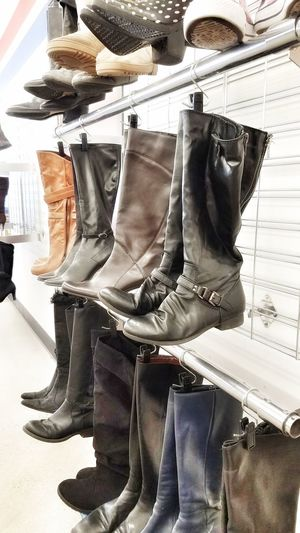 No People Indoors  Close-up Day Boots Merchandise Leather