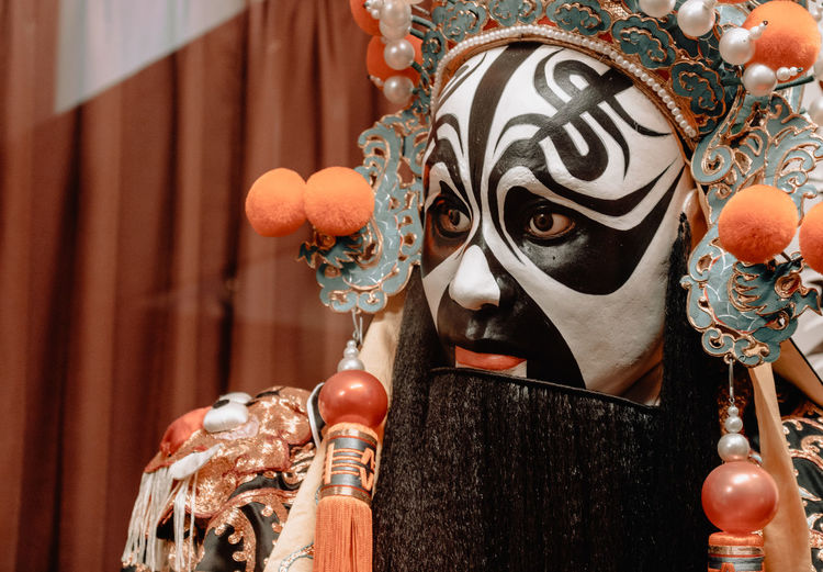 Art And Craft Close-up No People Focus On Foreground Representation Decoration Craft Indoors  Creativity Human Representation Mask - Disguise Day Disguise Ornate Hanging Mask Design Metal Luxury