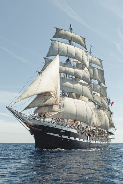 A trip aboard the French 3 mats barque; Belem. We sailed from Marseille to Nice between the Golden Islands. Summer 2014. Blue Wave Colors Documentary Explore Horizon Over Water Letsgosomewhere Mast Mediterranean  Mode Of Transport Nautical Vessel Packandgo Sailboat Sailing Sailing Ship Sailor Sea Seascape Ship Sky Summer Tall Ship Tallship The Belem Transportation Water