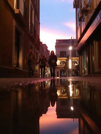 Granollers reflections. No edit.