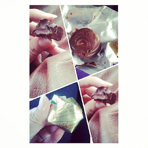 Chocolate Düren Nyummy Foodpict foodie coklat duren :))