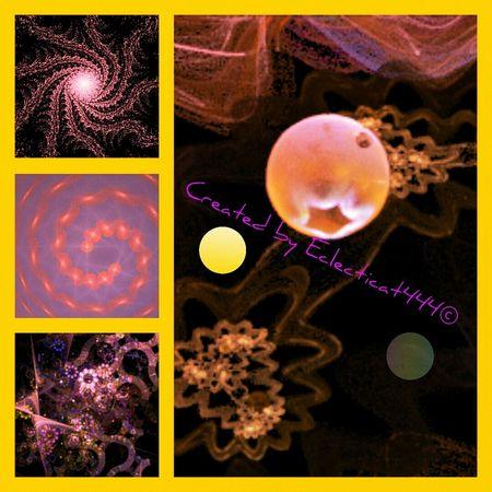 My Summer Sunbursting Fractal Art! Fractals Graphicdesign ArtWork Creativity Showyourwork Photo Collage my hobby