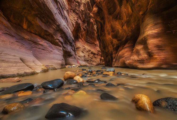 View Of Water In Cave