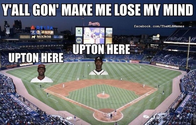 Uptons! #Braves