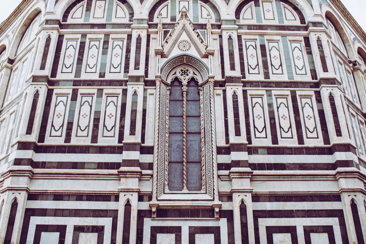 Santa Croce Cathedral Shoted With Canon EOS 750d Architecture Backgrounds History Pattern Low Angle View Built Structure No People