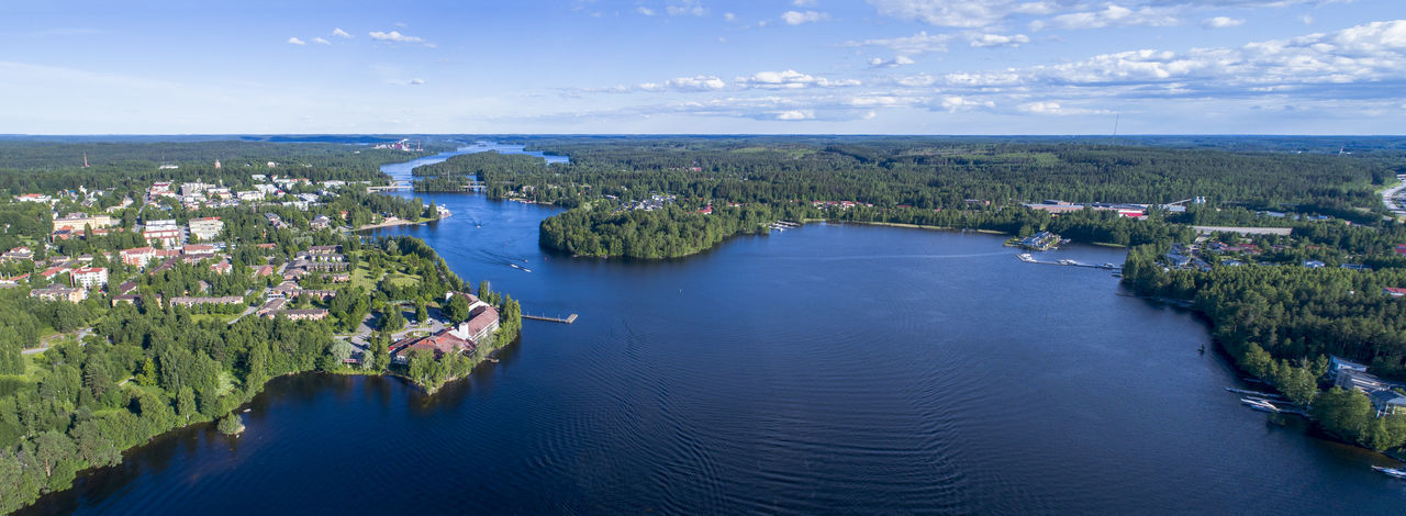 City Cityscape Drone  Finland Islands Nature Panorama Panoramic Aerial Aero Lake Landscape River Sea Sea And Sky Summer Water