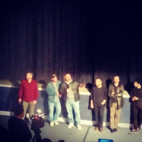 Fotoğraf ütü ile cekilmis kadar dandik olmuş ama film sonrası Onurünlü ve Serkankeskin en az film kadar iyiydiler. Itirazimvar Iksv istfilmfest14