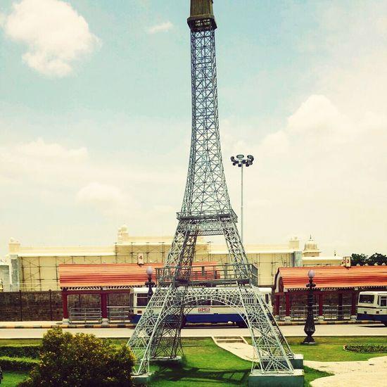 Hyderabad,India Replica- - The Eiffel Tower ? Ramoji Innovativefilmcity ?