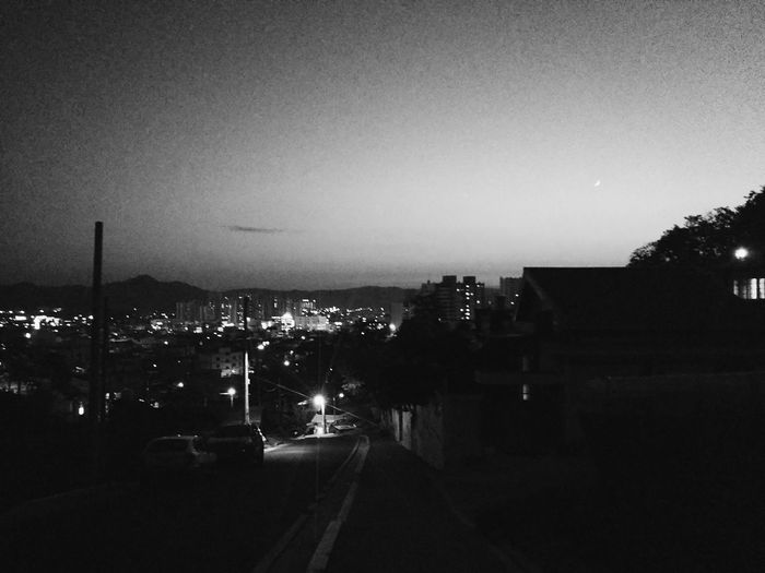 B&w Street Photography Andong Street Evening 안동 길 저녁