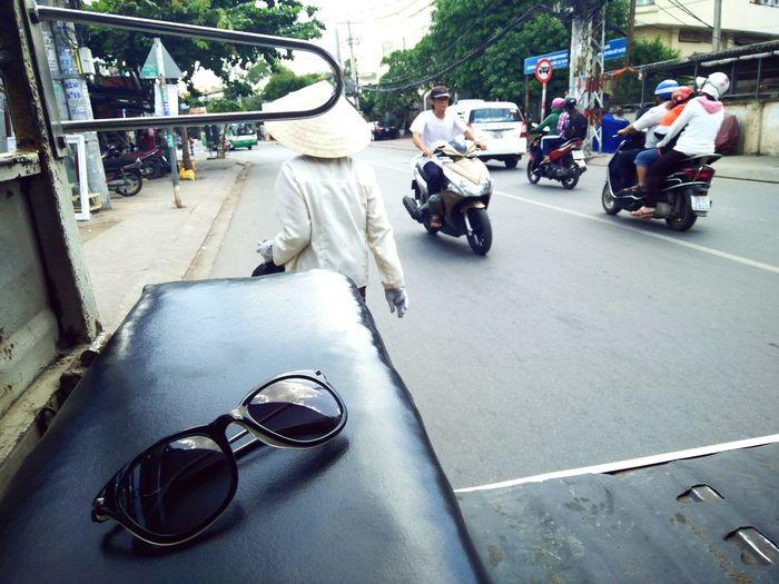 The Journey Is The Destination TukTuk in Vietnam