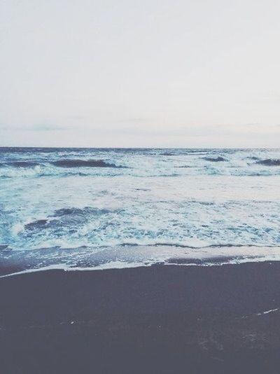 The ocean is beautiful