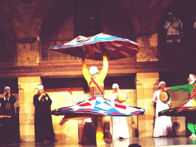 Real People Full Length Whirlingdervish Whirl Whirling Dance Folklore Cultures Colorful :-)