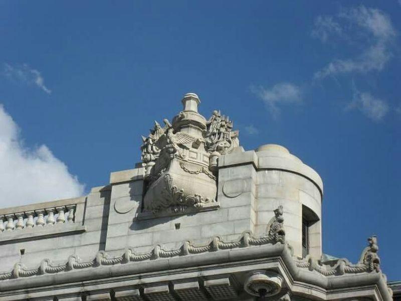 Gargoyle Nautical Ship Decorative Structure Stone Monumental