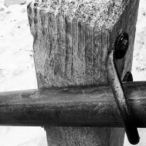 Handrail  Wooden Posts Safety 3XSPUnity Ladyphotographerofthemonth Black And White Cornwall Coastal Path TheWeekOnEyeEM Outdoors Nature