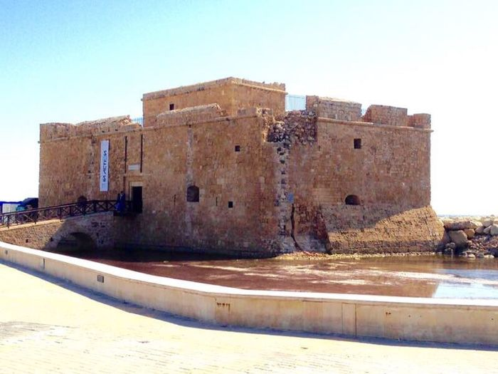 Medieval Castle of Paphos Traveling History Architecture Old Castle Walls Ancient Castle Ancient Civilization The Place I've Been Today Visiting