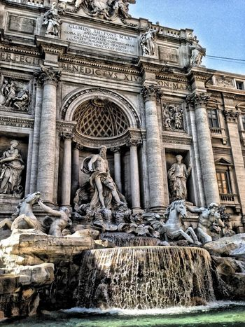 Rome Roma Trivia Fountain