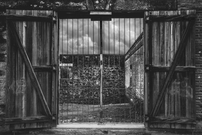 Wild West California Blackandwhite Photography Blackandwhite Old-fashioned Old Wooded Built Structure Architecture No People Metal Entrance Building Exterior EyeEmNewHere Wood - Material