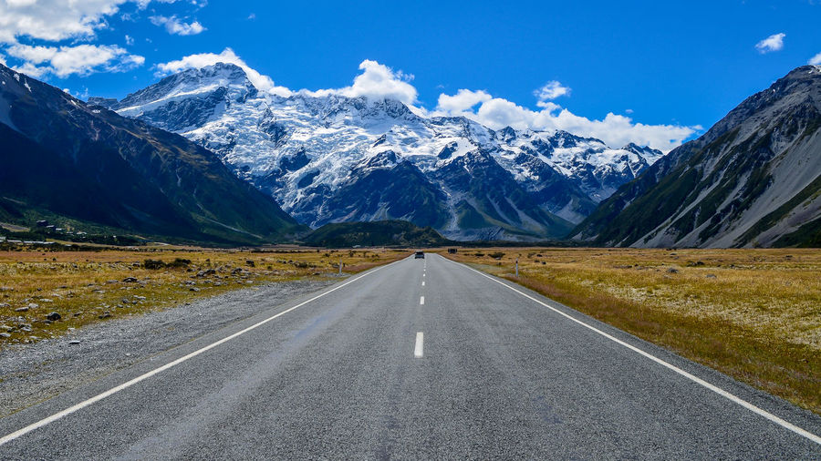 Newzealand Middleoftheroad Southisland Mountcook Travel Mountains And Sky Mountains Landscape The Great Outdoors - 2017 EyeEm Awards