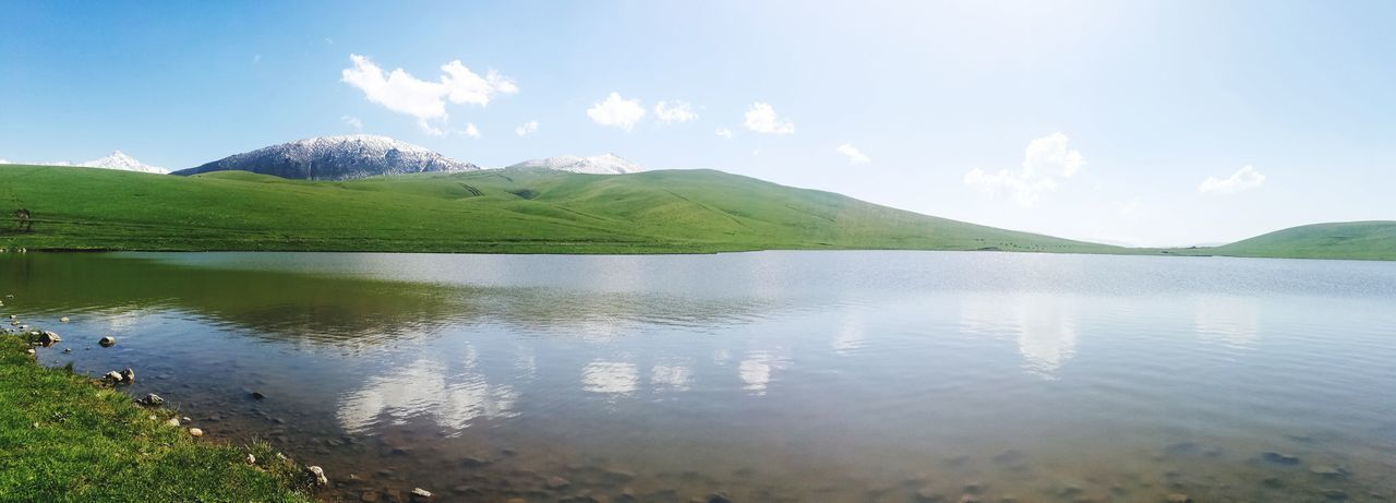 Ушконыр Almatymountains Hiking Hikingadventures Weekend Activities WEKEEND EyeEm Selects Beauty In Nature Kazakhstan Kazakhstan Nature Water Mountain Tree Lake Rural Scene Summer Reflection Sky Landscape Grass
