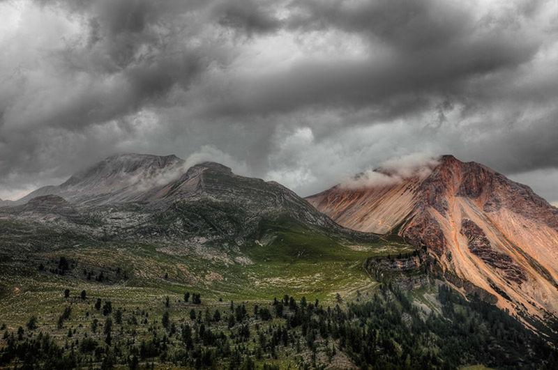 Dolomites, Italy Sennesfanesbraies Landscape
