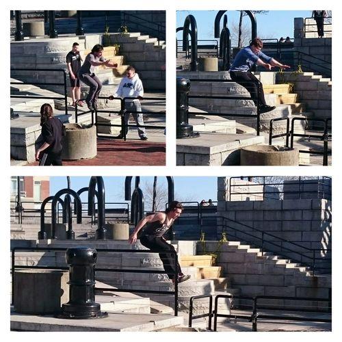 Parkour And Free Running Eye4photography  EyeEm Best Edits прыжки америка Бостон