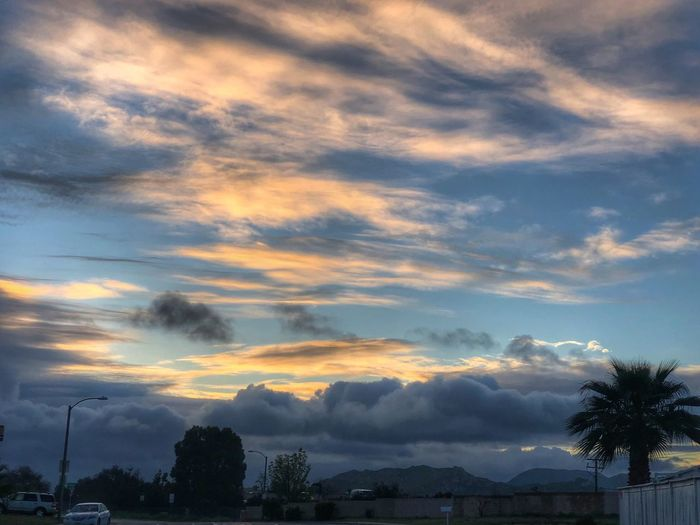 Good Morning Nature Photography Cloud - Sky Sky Tree Plant Sunset Beauty In Nature Nature Outdoors Dramatic Sky