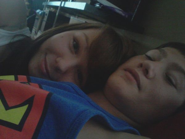 5/11/12. The most amazing day of my life <3 Love <3 Freshman Year(: Us <3
