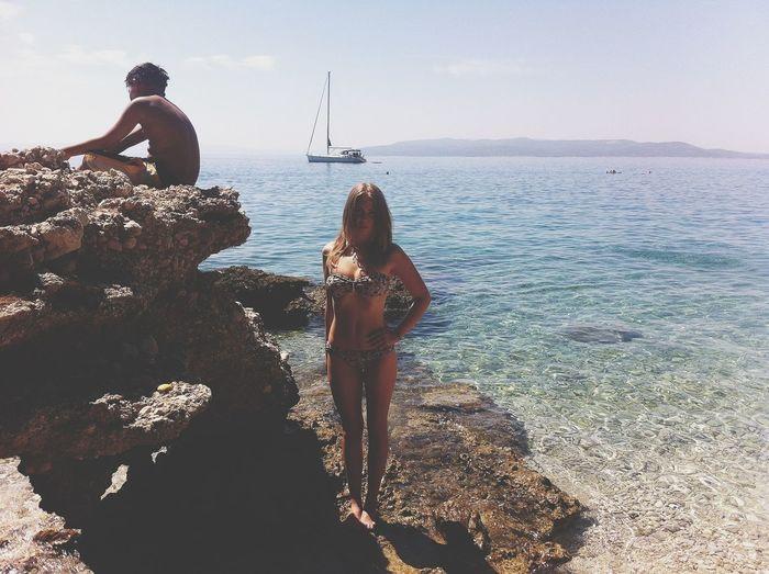 Croatia Sea Beachside Seaside Sunshine Happiness Goodvibes Summer Bodyshot Bikini