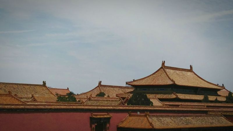 Palaces Old Buildings Royal Palace Ancient Chinese Culture Emperor Forbidden Places