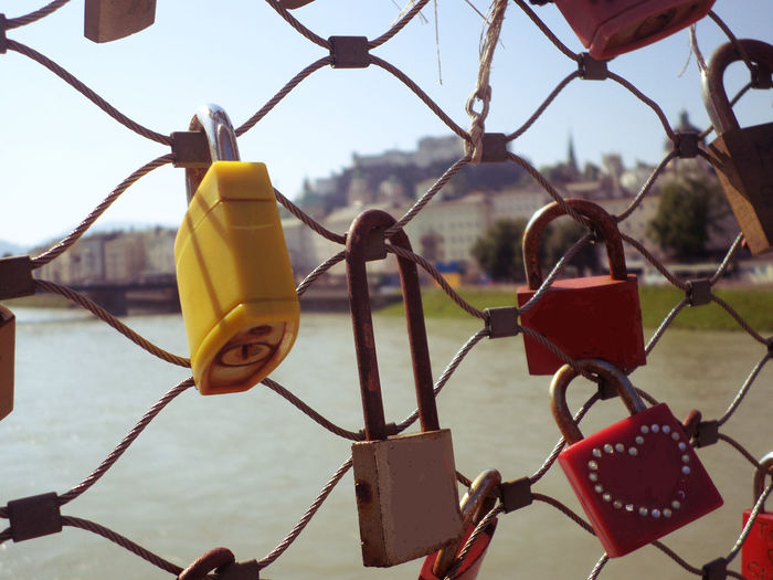symbol of eternity love, commitment, and motivation of relationships and friendships Abstract Bonding Bridge Chainlink Fence Close-up Commitment Culture Destiny Engagement Eternity Focus On Foreground Forever Lock Love Love Marriage  No People Outdoors Relationship Together Togetherness Tradition Unity