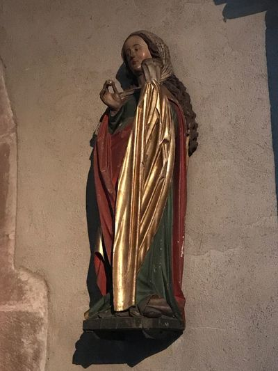 Religion Spirituality Statue Marie Eglise