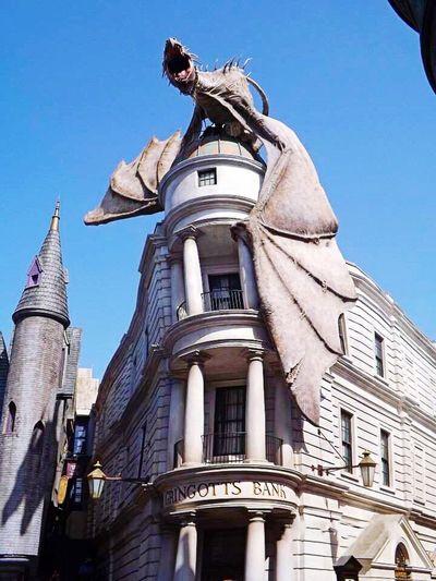Harry Potter Gringottsbank Gringotts Dragon Eye4photography
