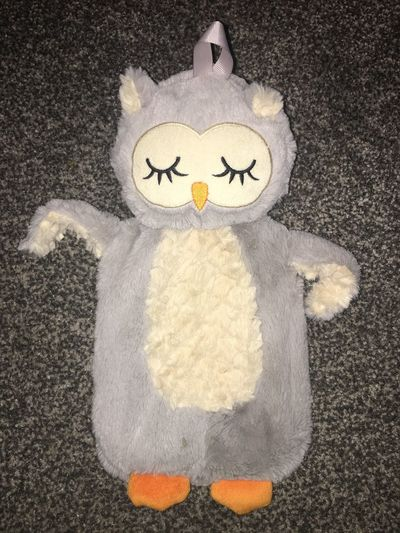 I'm so cosy ((hot water bottle) Creativity Art And Craft Representation High Angle View No People Directly Above Pattern Smiling Communication Close-up Shape Textured
