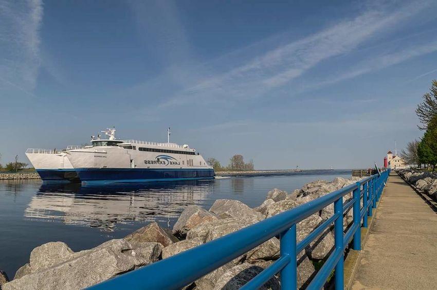 Nautical Vessel Pier Transportation Harbor Water Sea Yacht No People Travel Destinations Day USA Photos Usa Travel