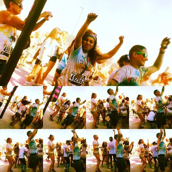 Colorrunpennstate Shinebright Behappy Smile