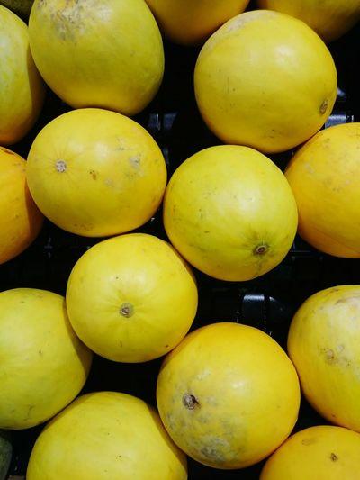 Full Frame Shot Of Lemon For Sale In Market