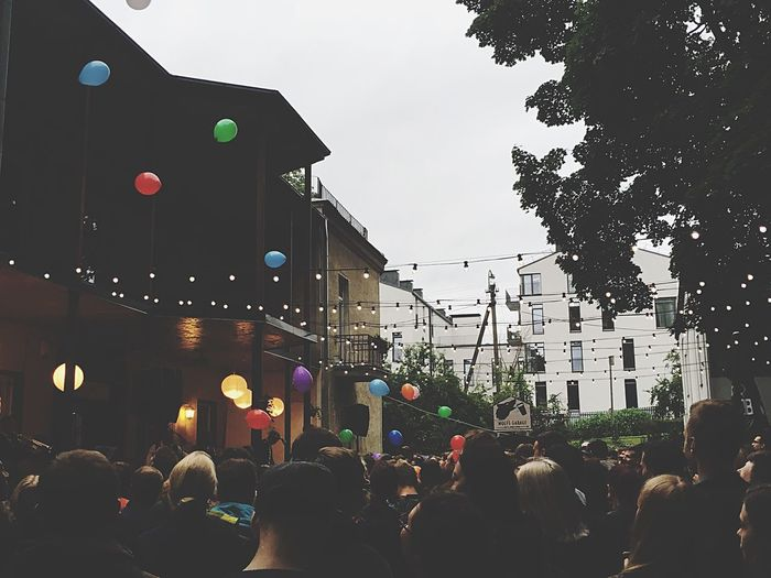 Lithuania Vilnius Balloons Lights Music Hostel Downtown Forest&camping Concert