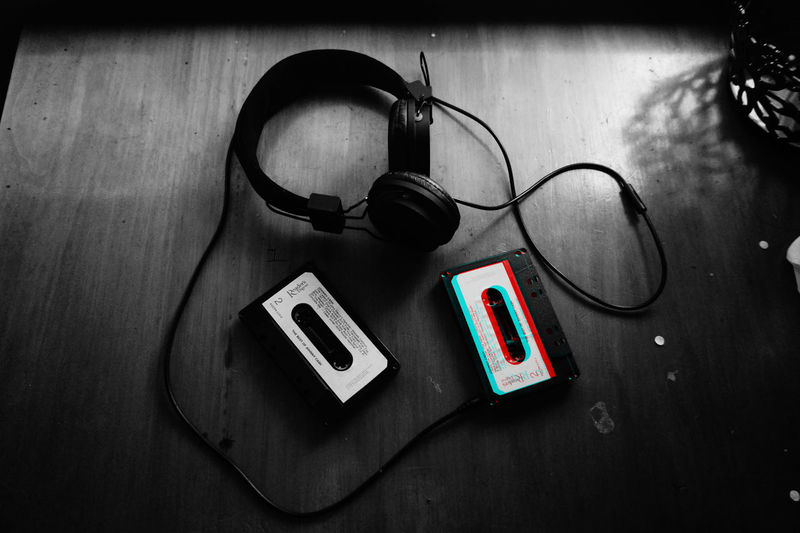 Music has been part of my life since i was little. Even on the darkest days you can listen to music to shine light through the clouds. 3-D Black & White Cassette Tape Close-up Contrast Day Eyesight Headphones Indoors  Jonnycash Music No People Rule Of Thirds Table TakeoverMusic Technology