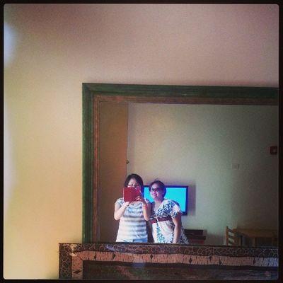 With Tita @refinnejlacsamanabaes ? Summerescape2013 ❤