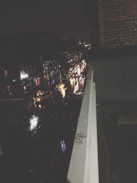 Nashville Rainy Days Nightphotography Night Lights View From Above View Up Top