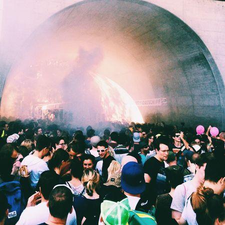 Electronic Music Shots Beat Street Electro Drumandbass Jungle Basel Switzerland Crowd Fireinthehole