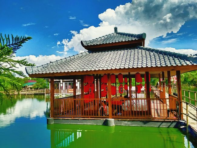 Cloud - Sky Architecture Water Mountain Travel Destinations Outdoors Tradition Travel Sky Stilt House No People Building Exterior Lake Nature Day Popular Photos Enjoying Life Tradition Amazing Nature Japan House Architecture Water - Collection