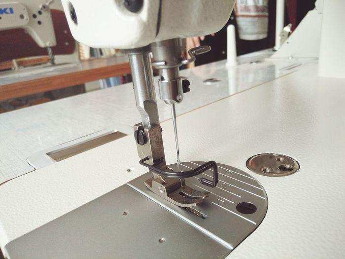 Sewing Machine Needle Juki Sewing Machine First Eyeem Photo taken with Oppo F1 Oppo Photographer