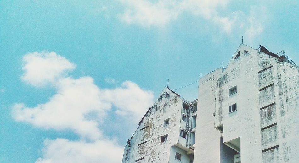 Ernakulam Building Exterior Architecture Window Low Angle View Cloud - Sky Day Sky Outdoors City Built Structure