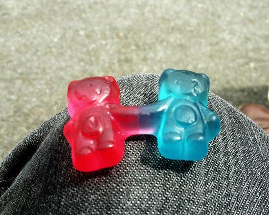 A gummy love Gummybears GummyBear Love Candy Close-up