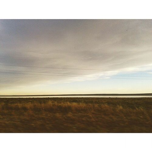 It was a beautifull day to travell... Rute  Salinas Lake Time Of Peace Sanrafael Cloudy