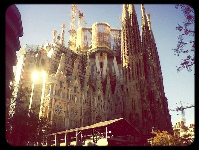Segrada Familia Barcelona Architecture Beautiful